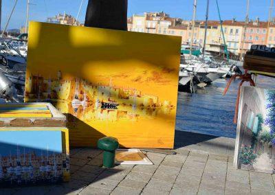 Hafen St-Tropez