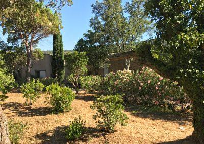 Haupthaus mit Garten